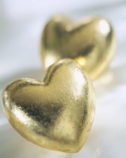 gold-hearts